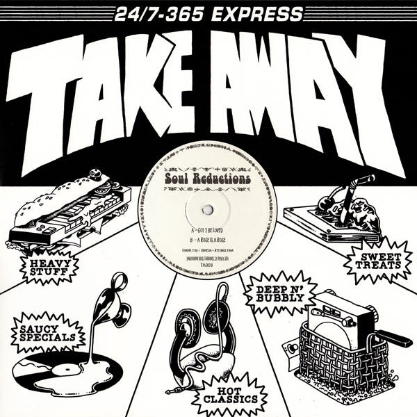 Soul Reductions ‎– Got 2 Be Loved : Take Away (3) ‎– TA003 : Vinyl, 12""