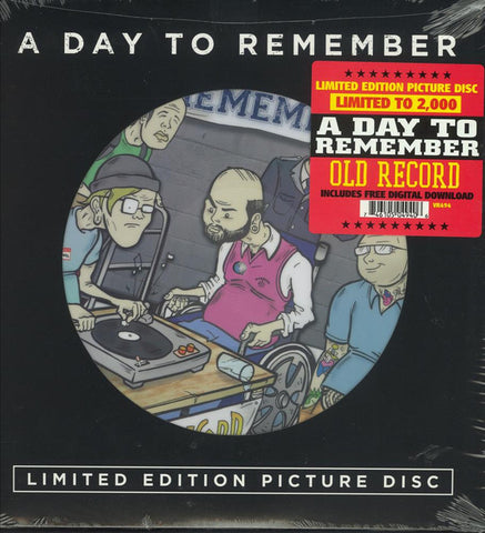 A Day To Remember ‎– Old Record : Victory Records ‎– VR494 : Vinyl, LP, Album, Limited Edition, Picture Disc, Reissue