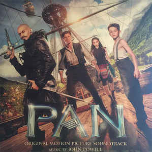 John Powell ‎– Pan (Original Motion Picture Soundtrack) : Music On Vinyl ‎– MOVATM066, Sony Classical ‎– none : At The Movies – : 2 × Vinyl, LP, Limited Edition, Numbered, 180g, Turquoise Black Marbled