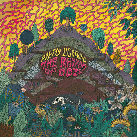 Pretty Lightning ‎– The Rhythm Of Ooze : Fuzz Club Records ‎– FC73V12 : Vinyl, LP, Album, Limited Edition, Pink