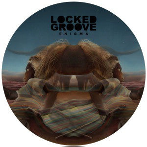 Locked Groove ‎– Enigma : Hotflush Recordings ‎– HFT 037 : Vinyl, 12""