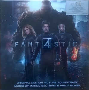 Marco Beltrami & Philip Glass ‎– Fantastic Four : Music On Vinyl ‎– MOVATM058 Series: At The Movies – MOVATM058 : 2 × Vinyl, LP, Album, Limited Edition, Numbered, Black/White Marbled, 180 gram