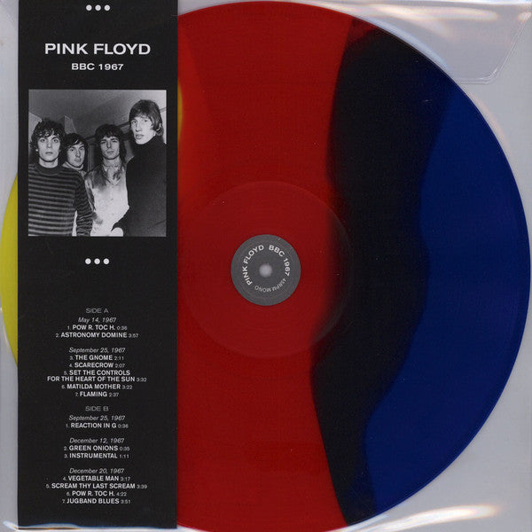 Pink Floyd ‎– BBC 1967 : NO KIDDING ‎– NK 201801 : Vinyl, LP, 45 RPM, Limited Edition, Unofficial Release, Mono, Coloured