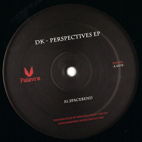 "DK (47) ‎– Perspectives EP : Palavre Records ‎– PLV003 : Vinyl, 12"", 33 ⅓ RPM, EP"