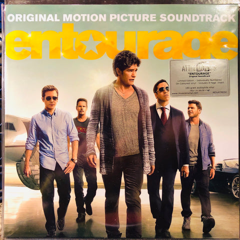 Various ‎– Entourage - Original Motion Picture Soundtrack : Music On Vinyl ‎– MOVATM050 Series: At The Movies – : Vinyl, LP, Album, Compilation, Limited Edition, Numbered, Yellow