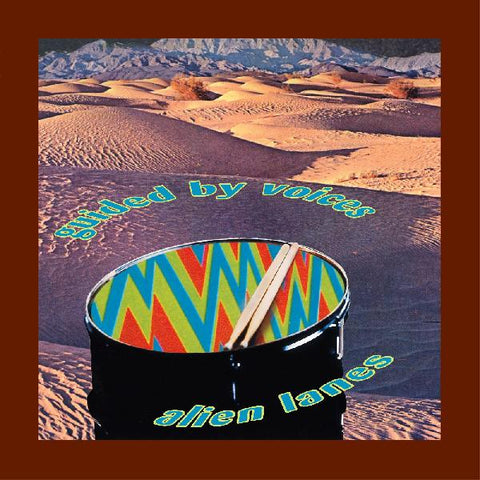 Guided By Voices ‎– Alien Lanes : Matador ‎– OLE 123-0 : Vinyl, LP, Album, Reissue, Red, Blue, Green, and Purple Swirl; Gatefold