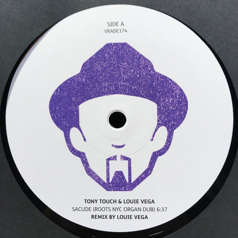 "Tony Touch, Louie Vega ‎– Sacude : Vega Records ‎– VRADE174 : Vinyl, 12"", 45 RPM, Limited Edition"
