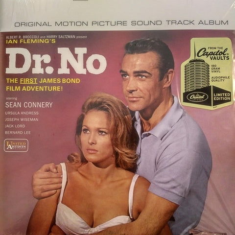 Monty Norman ‎– Dr. No (Original Motion Picture Sound Track Album) : Capitol Records ‎– CAP 28419-1 : Vinyl, LP, Album, Remastered, Stereo, 180 gram