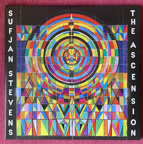 Sufjan Stevens ‎– The Ascension : Asthmatic Kitty Records ‎– AKR150 : 2 × Vinyl, LP, Album, Limited Edition, Clear