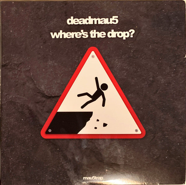 Deadmau5 ‎– Where's The Drop? : Mau5trap Recordings ‎– MAU50164V : 2 × Vinyl, LP, Album