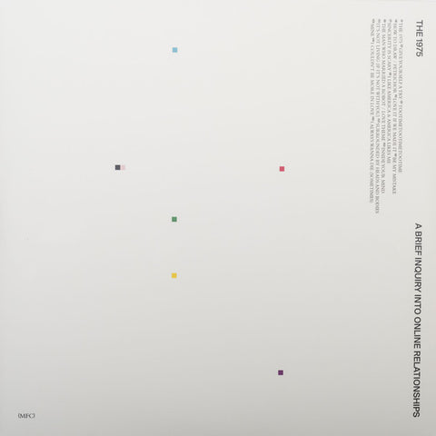 The 1975 ‎– A Brief Inquiry Into Online Relationships : Dirty Hit ‎– B0029124-01, Interscope Records ‎– B0029124-01 : 2 × Vinyl, LP, Album, Limited Edition, Yellow