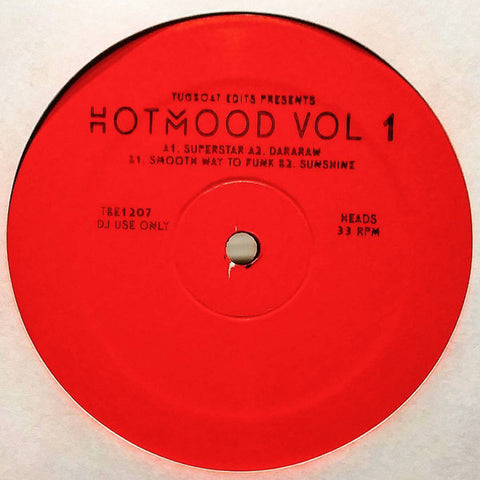"Hotmood ‎– Hotmood Vol 1 : Tugboat Edits ‎– TBE1207 : Vinyl, 12"", 33 ⅓ RPM, Limited Edition"