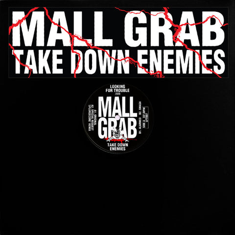 "Mall Grab ‎– Take Down Enemies : Looking For Trouble (2) ‎– LFT007 : Vinyl, 12"", EP, Limited Edition"