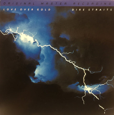 "Dire Straits ‎– Love Over Gold : Mobile Fidelity Sound Lab ‎– MFSL 2-469 Series: Original Master Recording – , Gain 2™ Ultra Analog 45RPM 180g Series – : 2 × Vinyl, 12"", 45 RPM, Album, Numbered, Reissue, Remastered, Special Edition, Gatefold 180g"