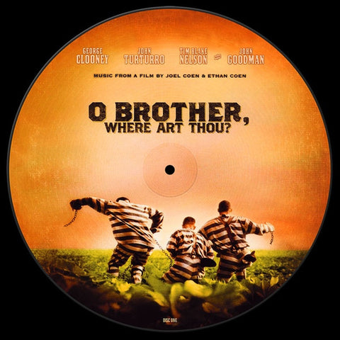 Various ‎– O Brother, Where Art Thou? : Lost Highway ‎– 060075345454 : 2 × Vinyl, LP, Compilation, Limited Edition, Picture Disc