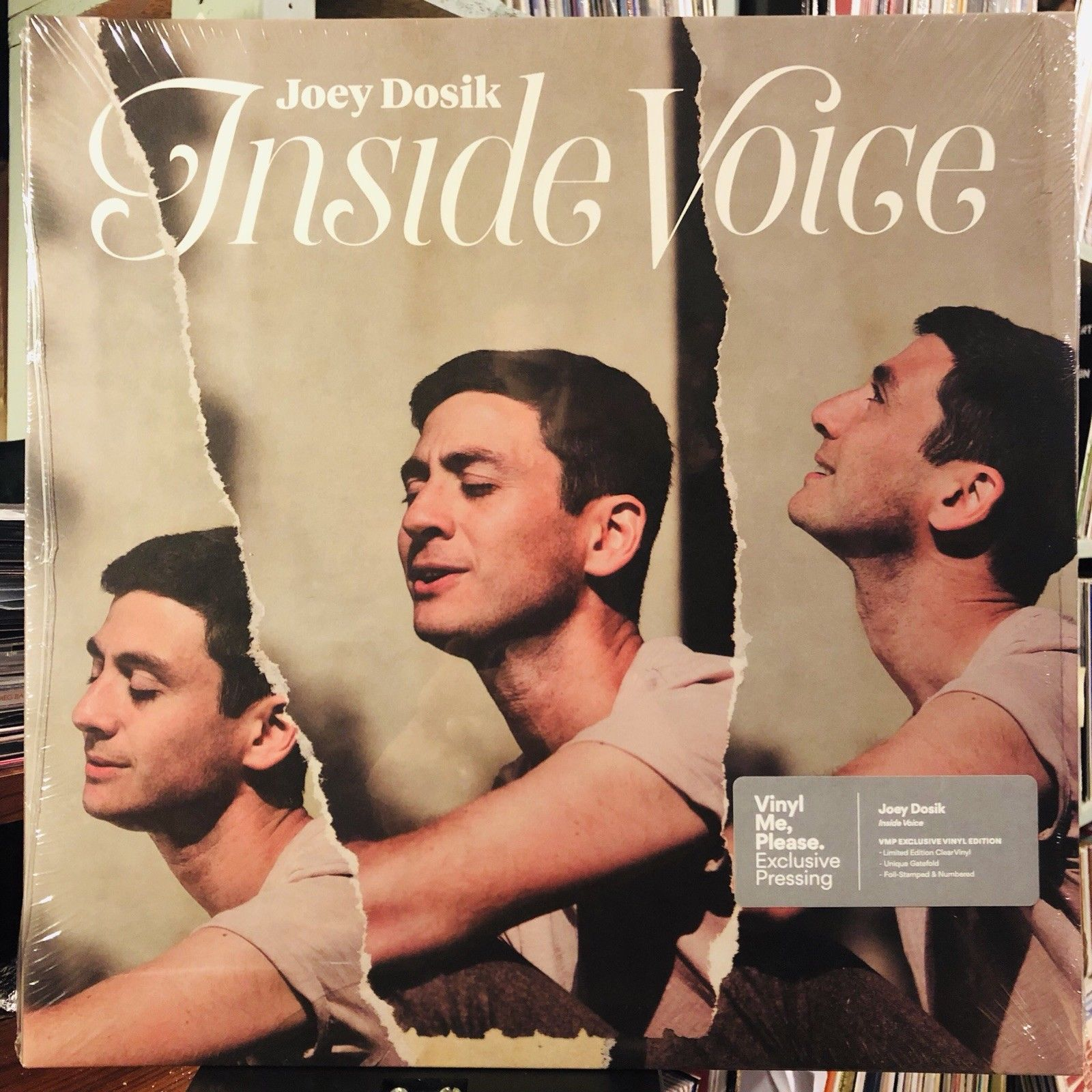 Joey Dosik ‎– Inside Voice : Secretly Canadian ‎– SC364 : Vinyl, LP, Album, Club Edition, Limited Edition, Numbered, Clear