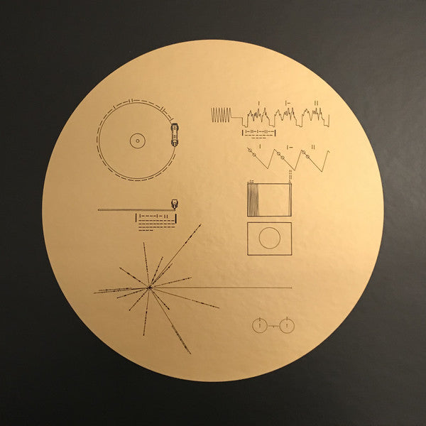 Various ‎– Voyager Golden Record : Ozma Records ‎– Ozma-001 : 3 × Vinyl, LP, Compilation, Repress, translucent gold, 140g  Box Set, Compilation
