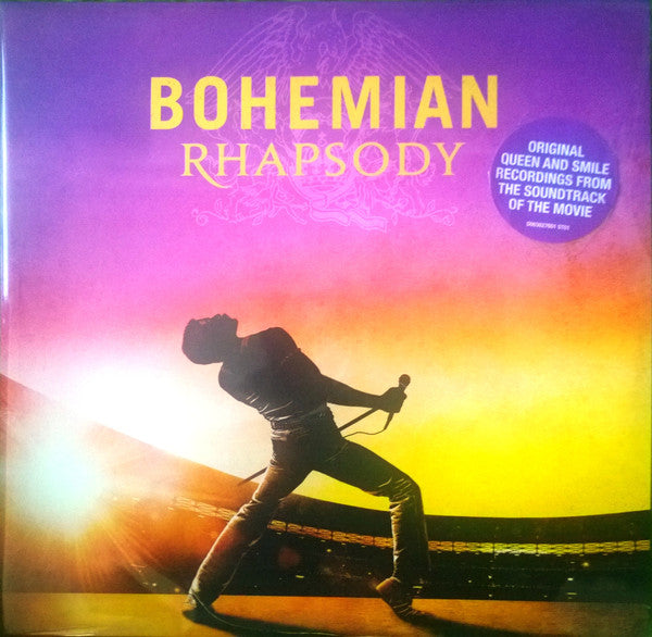 Queen ‎– Bohemian Rhapsody (The Original Soundtrack) : Hollywood Records ‎– D003027601 : 2 × Vinyl, LP, Compilation, Remastered, Stereo