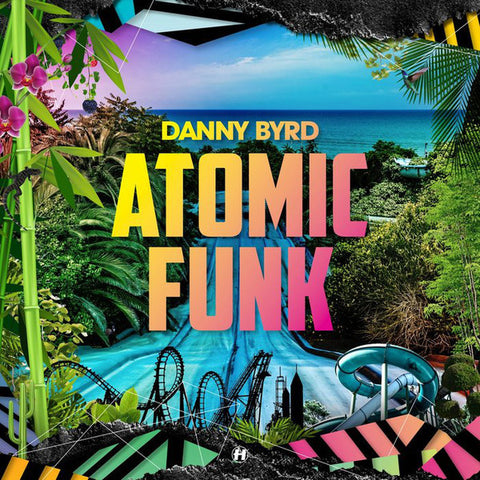 Danny Byrd ‎– Atomic Funk : Hospital Records ‎– NHS339LP, Hospital Records ‎– NHS339CD : 2 × Vinyl, LP, Album  CD, Album