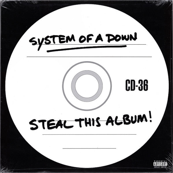 System Of A Down ‎– Steal This Album! : American Recordings ‎– 19075865621, Columbia ‎– 19075865621, Legacy ‎– 19075865621 : 2 × Vinyl, LP, Album, Reissue