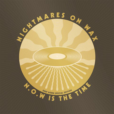 Nightmares On Wax ‎– N.O.W Is The Time (Deep Down Special Edition) : Warp Records ‎– WARPLP248X : 2 × Vinyl, LP 2 × CD, Compilation Box Set, Special Edition