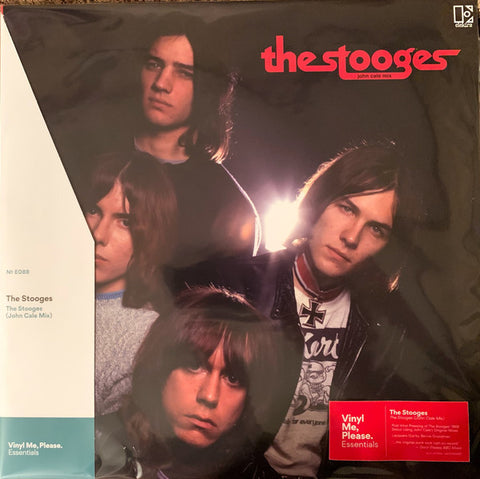 The Stooges ‎– The Stooges (John Cale Mix) : Elektra ‎– RCV1 607300, Elektra ‎– 081227909437 Series: Vinyl Me, Please. Essentials – E088 : Vinyl, LP, Album, Club Edition, Reissue, Remastered, Stereo, Red & Black Marble, 180g
