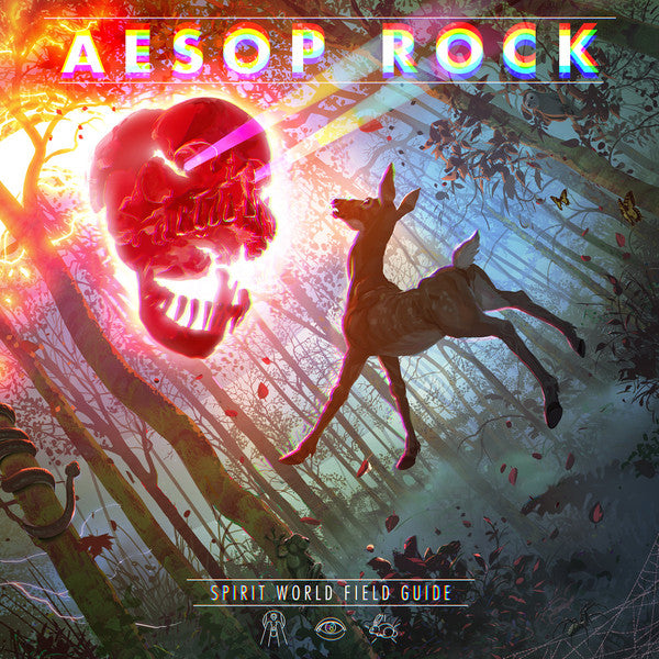 Aesop Rock ‎– Spirit World Field Guide : Rhymesayers Entertainment ‎– RSE0314-1 : 2 × Vinyl, LP, Album, clear