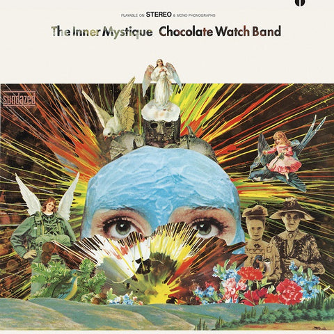 The Chocolate Watch Band* ‎– The Inner Mystique : Sundazed - SUNDZ 5307X : Gold Vinyl, LP, Album, Reissue, 180 gram