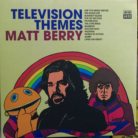 Matt Berry (3) ‎– Television Themes : Acid Jazz ‎– AJXLP450 : Vinyl, LP, Stereo