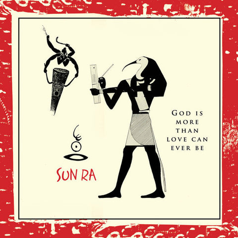 Sun Ra ‎– God Is More Than Love Can Ever Be : Cosmic Myth Records ‎– CMR 003 : Vinyl, LP, Album, Reissue, Remastered