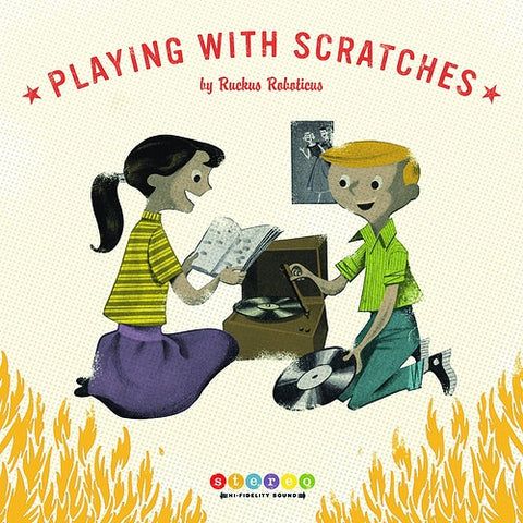 Ruckus Roboticus ‎– Playing With Scratches : Grease Records ‎– GR-002 : 2 × Vinyl, LP, Album