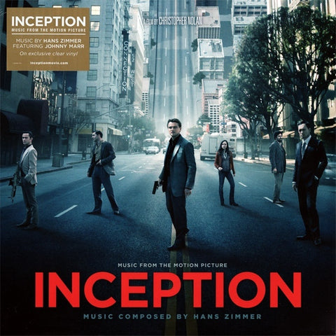 Hans Zimmer - Inception (Music From The Motion Picture) - Reprise Records, WaterTower Music - 524667-1 - LP, RP, Cle
