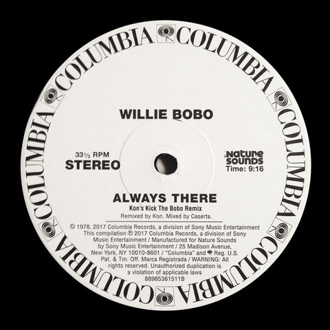 "Willie Bobo ‎– Always There : Nature Sounds ‎– 88985361511 : Vinyl, 12"", Limited Edition"