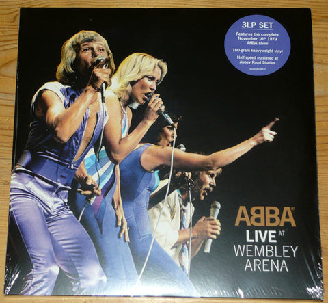 ABBA ‎– Live At Wembley Arena : Polar ‎– 00602508379017 : 3 × Vinyl, LP, Album, Limited Edition, Reissue, 180 Gram
