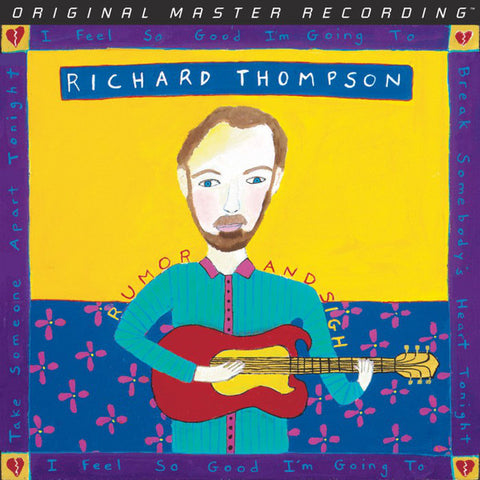 Richard Thompson ‎– Rumor And Sigh : Mobile Fidelity Sound Lab ‎– MFSL 2-476 : 2 × Vinyl, LP, Reissue, Remastered, Gatefold
