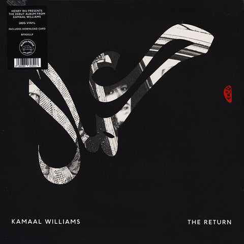 Kamaal Williams ‎– The Return : Black Focus Records ‎– BFR001LP : Vinyl, LP, Album, 180gr