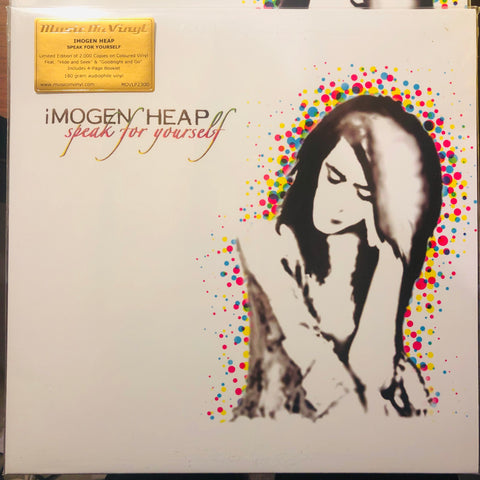 Imogen Heap ‎– Speak For Yourself : Music On Vinyl ‎– MOVLP2300 : Vinyl, LP, Album, Limited Edition, Numbered, Reissue, Yellow & Transparent Mixed