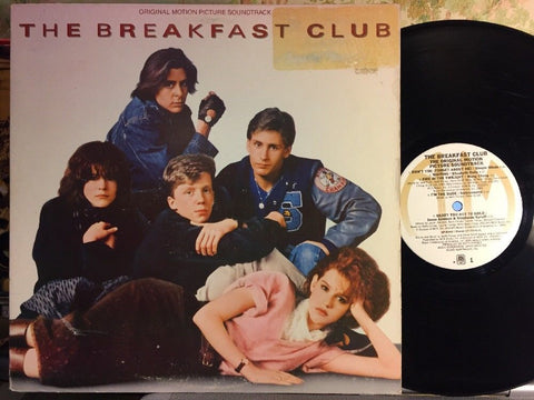 Various ‎– The Breakfast Club (Original Motion Picture Soundtrack) : A&M Records ‎– SP-5045, A&M Records ‎– SP 5045 : Vinyl, LP, Album