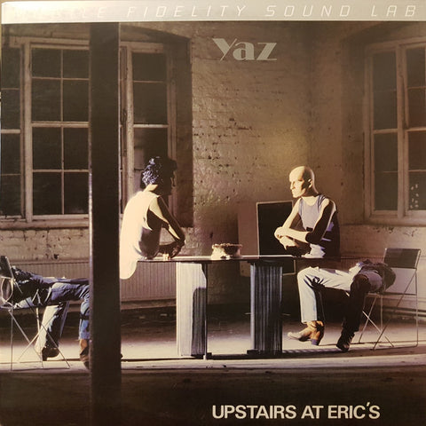 Yaz* ‎– Upstairs At Eric's : Mobile Fidelity Sound Lab ‎– MOFI 1-020 Series: Silver Label Vinyl Series – : Vinyl, LP, Album, Limited Edition, Numbered, Remastered