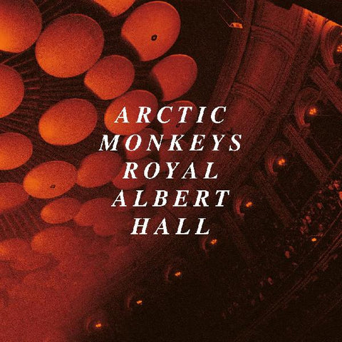 Arctic Monkeys ‎– Live At The Royal Albert Hall : Domino ‎– WIGLP490 : 2 × Vinyl, LP, Album, Limited Edition, Clear