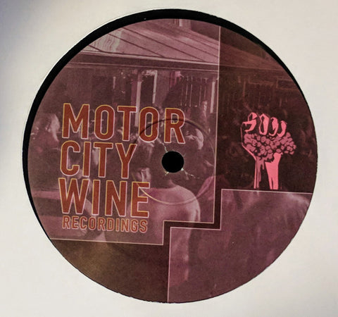 Various Artists MotorCity Wine Recordings #2 - MotorCity Wine 002 - Vinyl, 12""
