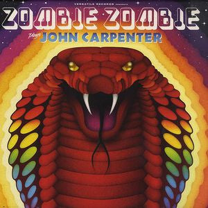 Zombie Zombie ‎– Zombie Zombie Plays John Carpenter : Versatile Records ‎– VER069 : Vinyl, LP