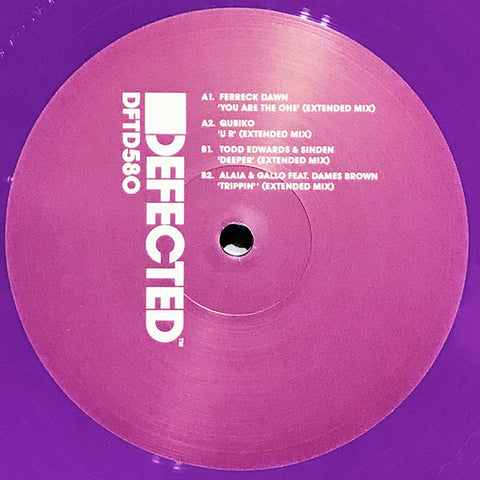 "Various ‎– Sampler EP 6 : Defected ‎– DFTD580 Series: House Music All Life Long – : Vinyl, 12"", 33 ⅓ RPM, EP, Repress, Sampler, Purple"