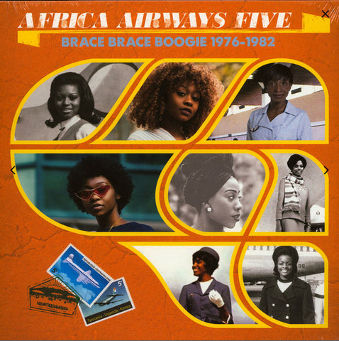 Various ‎– Africa Airways Five (Brace Brace Boogie 1976-1982) : Africa Seven ‎– ASVN050 Series: Africa Airways – Five : Vinyl, LP, Compilation