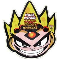 "Osaka Popstar ‎– Shaolin Monkeys : Misfits Records ‎– MR-SPD7-002 : Vinyl, 10"", Shape, Picture Disc, Maxi-Single, 45 RPM, Die-Cut"
