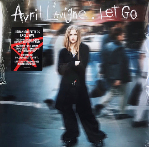 Avril Lavigne ‎– Let Go : Arista ‎– 19075959541 : 2 × Vinyl, LP, Album, Limited Edition, Reissue, Color-splattered Clear