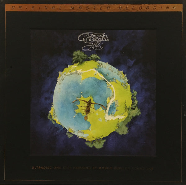 "Yes ‎– Fragile : Mobile Fidelity Sound Lab ‎– UD1S 2-012, Atlantic ‎– UD1S 2-012 Series: UltraDisc One-Step – , Original Master Recording – : 2 × Vinyl, 12"", 45 RPM, Album, Reissue, Remastered, 180 Gram Box Set, Limited Edition, Numbered"
