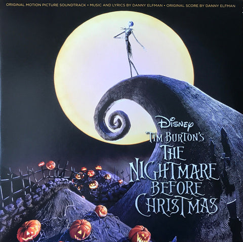 Danny Elfman ‎– Tim Burton's The Nightmare Before Christmas (Original Motion Picture Soundtrack) : Walt Disney Records ‎– D002427401 : 2 × Vinyl, LP, Album, Repress, Stereo