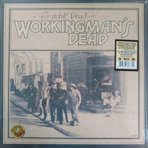 Grateful Dead* ‎– Workingman's Dead : Warner Records ‎– RR1 1869, Warner Records ‎– 603497847754, Rhino Records (2) ‎– 603497847754 : Vinyl, LP, Album, Reissue, Remastered, 180g