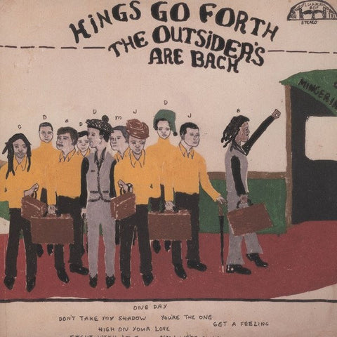 Kings Go Forth - The Outsiders Are Back - Luaka Bop - LBOP-0075 - LP, Album